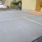 家の前の駐車スペース