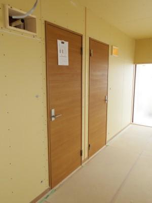 子ども部屋のドアです。