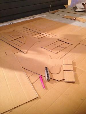 型紙を作ります。
