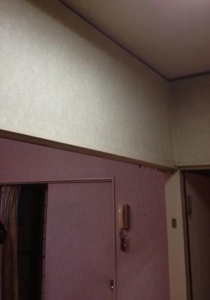 2部屋の間にあった壁です。