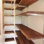 可動棚なので棚の高さを変えられます。