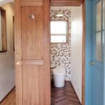 シューズクロークの隣がトイレです♪