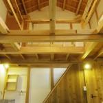 階段の上部