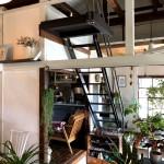 鉄製の造作階段
