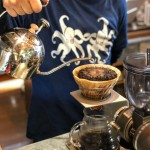 美味しいドリップコーヒーを淹れるコーヒーカウンターです♪
