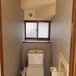 トイレも壁紙を張り替えました。