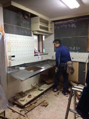青梅黒沢二世帯リノベーション現場 洋館工事完工報告!