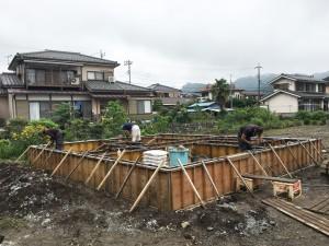 青梅梅郷新築現場スタートしました(^^)/