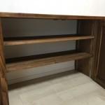 棚の中は可動棚になっています。